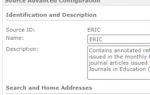 MCAA - Edit Configuration