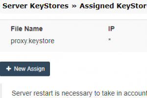 MKPF Admin Keystore